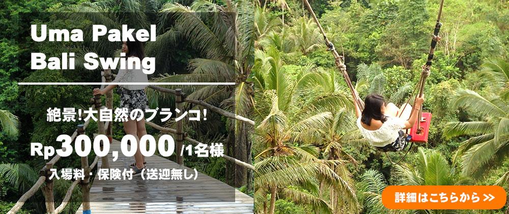 バリ島 Uma Pakel Bali Swing