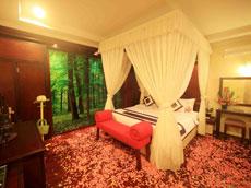 プールヴィラ ベッドルーム