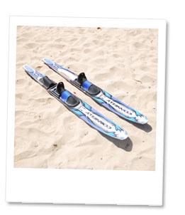 水上スキー板