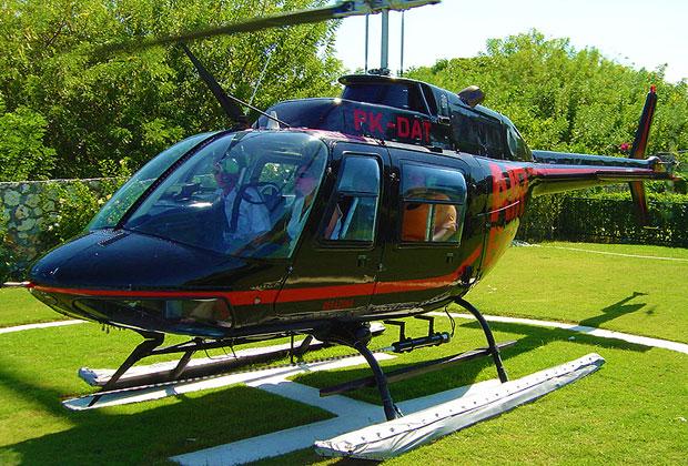 ヘリコプター乗り場