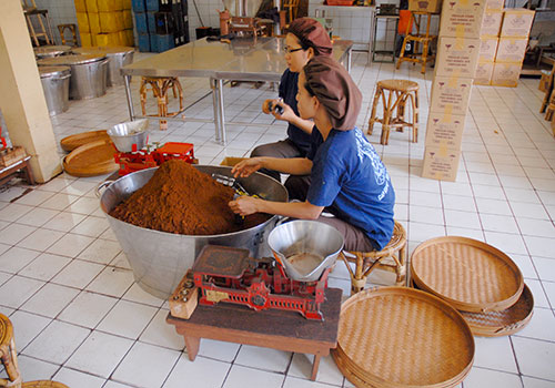 バリコーヒー工場