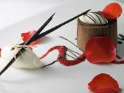 チョコレートムースラズベリー