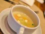 豆腐とシーフードスープ