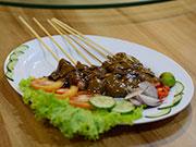 インドネシア風鶏の串焼き