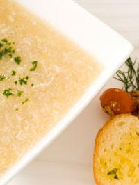 カニとコーンのスープ