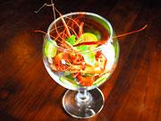 クマンギ&ライム風味の川海老