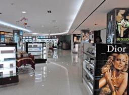 化粧品売り場