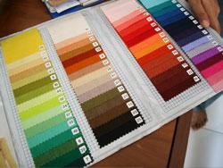 お好きな色の革をお選びください