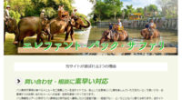 エレファント・バック・サファリスペシャルページを公開しました!様々な動物に出会えるバリ動物園で出来る象乗り体験!バリ動物園でエレファントライドを楽しめるパッケージとなっています。スマトラ象にのって園内を散歩するエレファン...