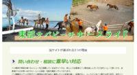 東部サバビーチ ホースライドスペシャルページを公開しました!ビーチを馬に乗って優雅に散歩を出来るホースライド!バリ島で乗馬体験満喫!バリ島の南部リゾートエリアから車で1時間ほどの場所にある、東部サバビーチで乗馬を体験でき...