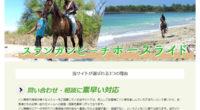 スランガンビーチ ホースライドスペシャルページを公開しました!素朴な田舎の景色の中でのんびりと乗馬を楽しめるスランガンビーチでホースライド!バリ島の南部リゾートエリアからも近い好立地の場所にある、スランガンビーチで楽しめ...
