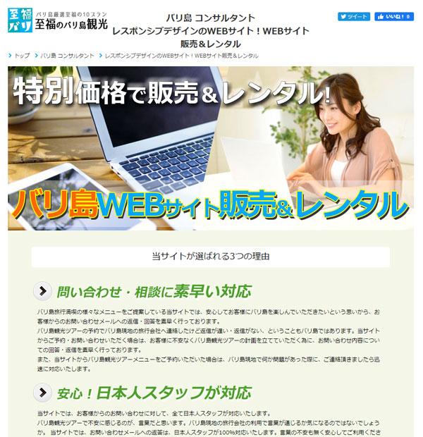 WEBサイト販売&レンタル