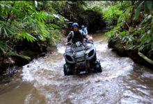 大自然の中で四輪バギーのATVライドを体験! | バリ島 山遊び 体験レポート