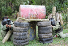 バリ島の自然の中でサバイバルゲーム!バリ・タロ・アドベンチャー ペイントボール | バリ島 山遊