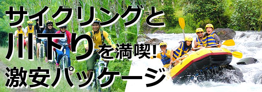 トキメキバリ島観光 厳選アクティビティ 激安アクティビティ2in1 アラム社 特徴