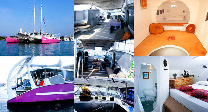Aneecha Catamaranをチャーター