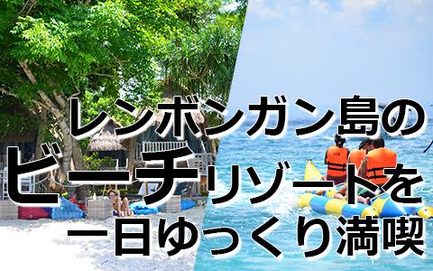 トキメキバリ島観光 バリハイ ビーチクラブクルーズ 特徴