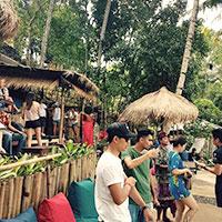 トキメキバリ島観光 バリ スウィング ランチ
