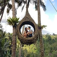 トキメキバリ島観光 バリ スウィング ジャングル