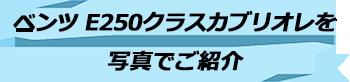 トキメキバリ島観光 厳選カーチャーター ベンツ E250クラスカブリオレ 写真で見る
