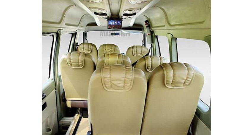 ゆったりとした座席で快適にバリ島観光を楽しめるでしょう