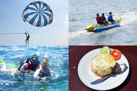 トキメキバリ島観光 厳選マリンスポーツ 3種パック 画像