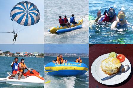 トキメキバリ島観光 厳選マリンスポーツ 5種類A 画像