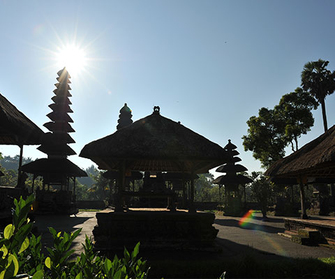 バリ島で2番目に大きな寺院