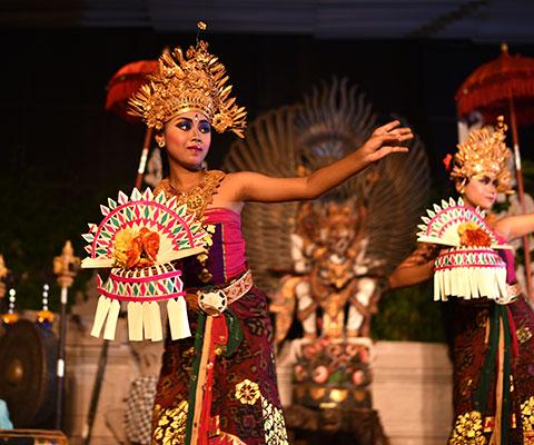 お食事と伝統舞踊を楽しめるオプショナルツアー
