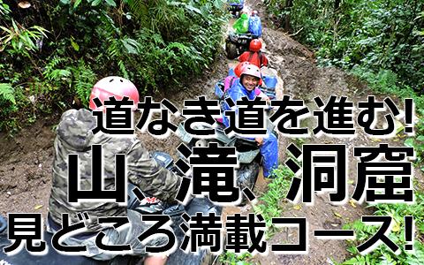トキメキバリ島観光 厳選アクティビティ KUBER BALI ATVライド 特徴