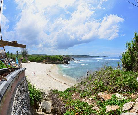海だけじゃない美しいレンボンガン島
