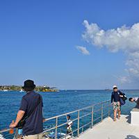 バリ島 ポントゥーンに到着
