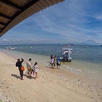 バリ島 サヌールからスピードボート