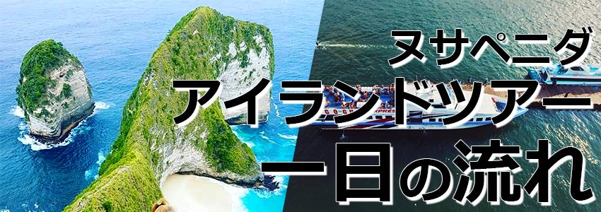 トキメキバリ島観光 厳選レンボンガン島 ヌサペニダアイランドツアー 一日の流れ