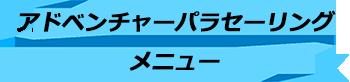 トキメキバリ島観光 厳選マリンスポーツ カップルで大空へ!アドベンチャーパラセーリング メニュー