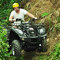 トキメキのバリ島観光 Pertiwi Quad Adventure ATVライド オフロード