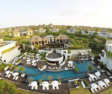 バリ島 サマベ 5つ星の最高級リゾート・サマベ