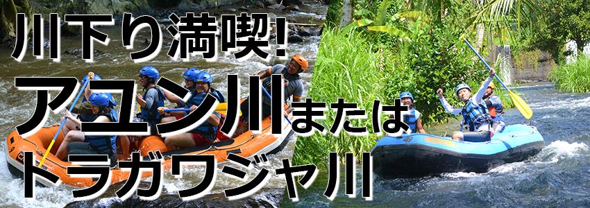 トキメキバリ島観光 厳選アクティビティ ソベック ラフティング 特徴