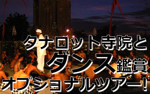 トキメキバリ島観光 厳選オプショナルツアー 激安 タナロット寺院でケチャックダンス 特徴