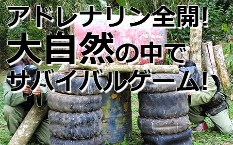 トキメキバリ島観光 厳選アクティビティ バリ タロ アドベンチャー ペイントボール 特徴