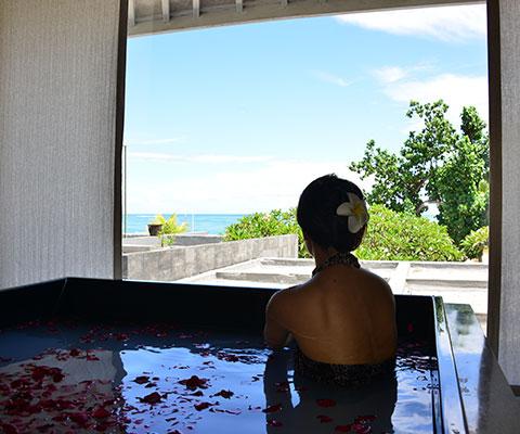 バリ島らしい海の景色を楽しめます