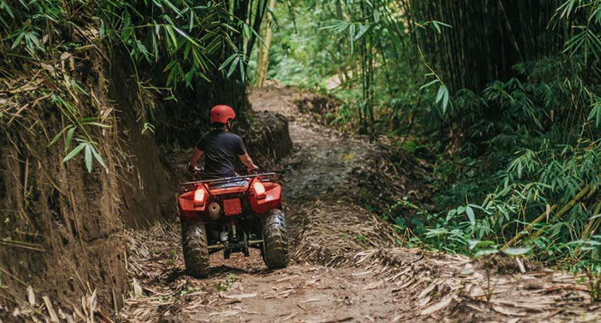 バリ島の大自然の中でたっぷりとご満喫ください