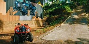 わくわくのバリ島観光 バリ島 ABIANSILA ADVENTURES ATVライド 到着