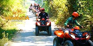 わくわくのバリ島観光 バリ島 ABIANSILA ADVENTURES ATVライド 出発