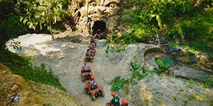 わくわくのバリ島観光 バリ島 ABIANSILA ADVENTURES ATVライド ATV