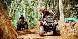 わくわくのバリ島観光 バリ島 ABIANSILA ADVENTURES ATVライド オフロード