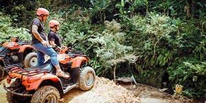 わくわくのバリ島観光 バリ島 ABIANSILA ADVENTURES ATVライド 自然