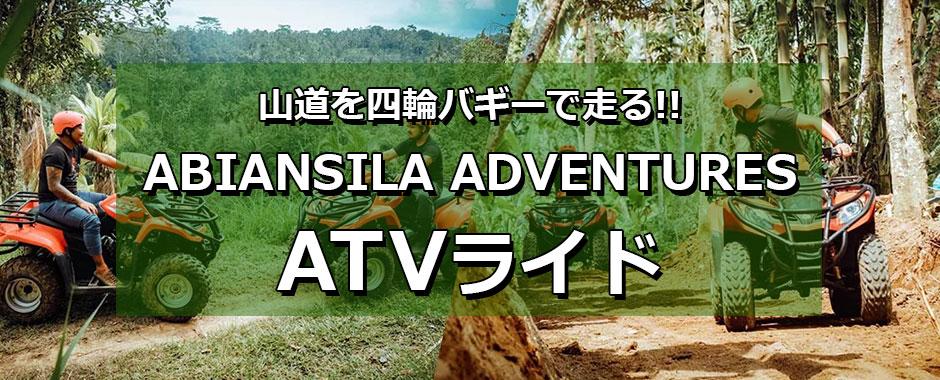 バリ島 わくわくのバリ島観光 ABIANSILA ADVENTURES ATVライド