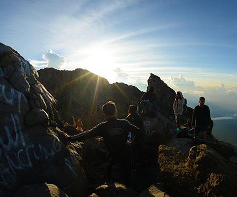 登山経験者や体力に自信のある方向け