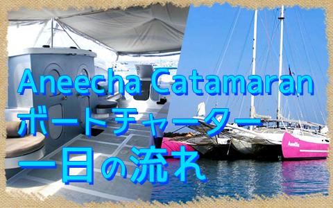 至福のバリ島観光 厳選 Aneecha Catamaran クルーズ 一日の流れ